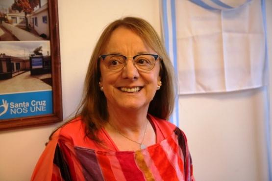 El gabinete de Alicia Kichner. (C. González)