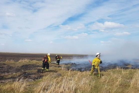 El incendio de campo registrado en Sarmiento fue controlado