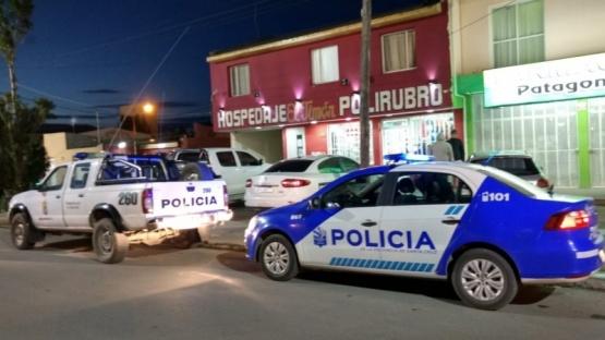 Personal policial acudió al lugar.