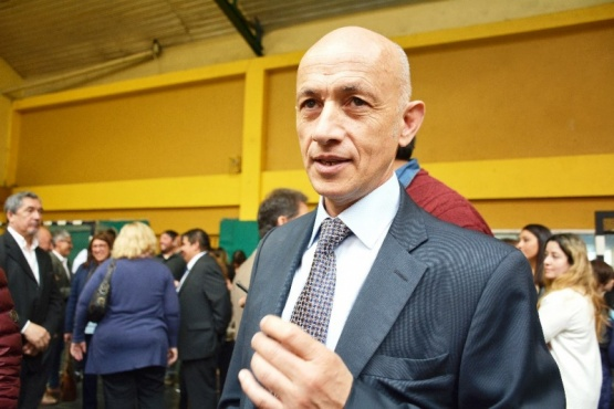 Intendente electo Fernando Cotillo. (C.R)