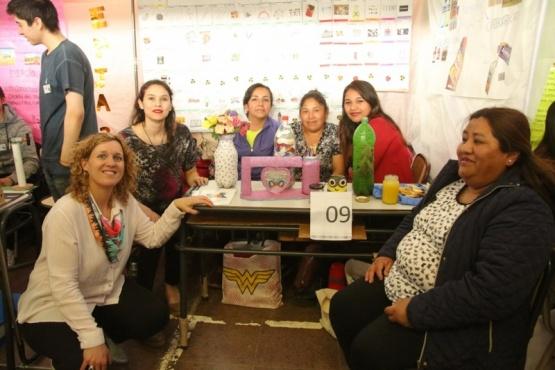 Stand de la expo (Fotos: C. González).
