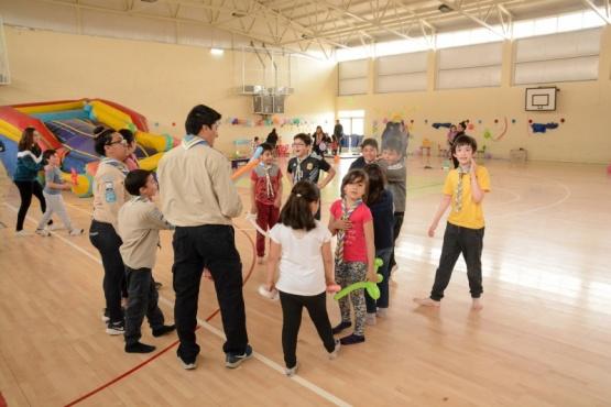 Se realizó actividad por los derechos del niño en el Gimnasio