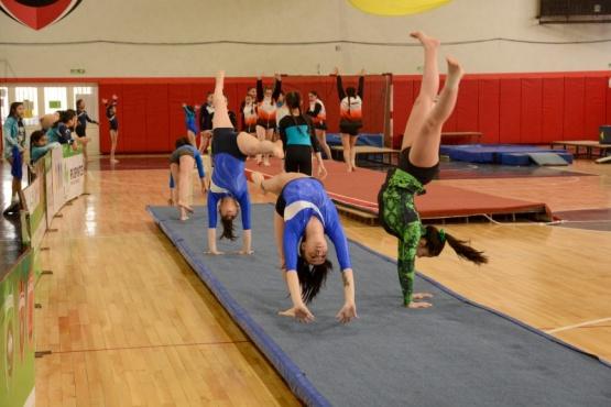 Se llevó a cabo el V Torneo de Gimnasia Artística