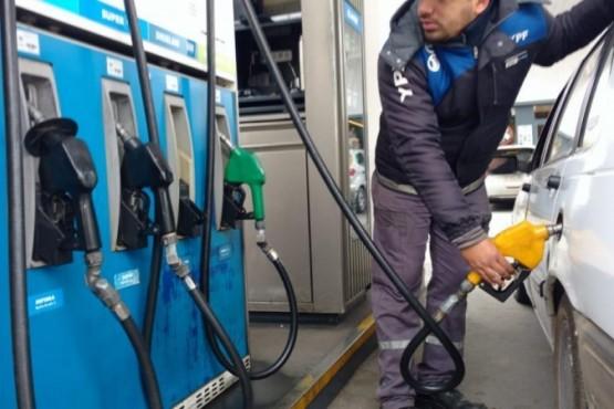 Combustible aumentó un 6% hoy.