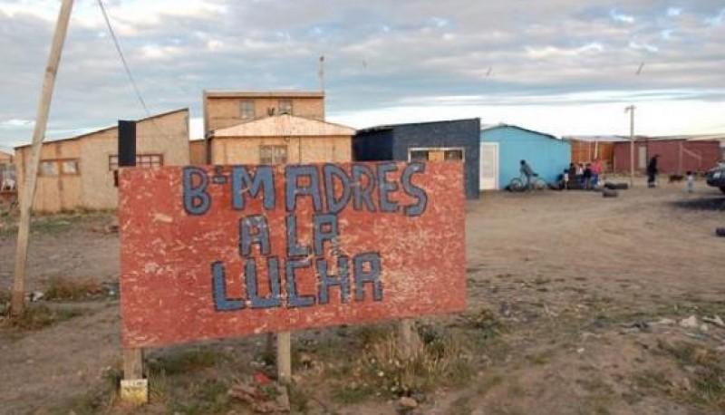 Barrio Madres a la Lucha donde sucedió el hecho esta mañana.