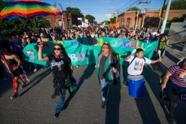 Se realizó la primera Marcha Provincial del Orgullo LGBTIQ+