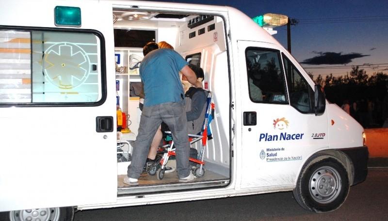 Los heridos fueron trasladados al nosocomio local, donde fueron asistidos.