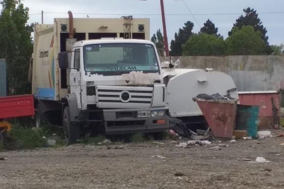 Camion recolector en desuso (Foto C.R.)