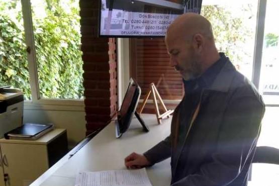 El fiscal Omar Rodríguez presento hoy una nueva acusación contra Carlos Barbato.