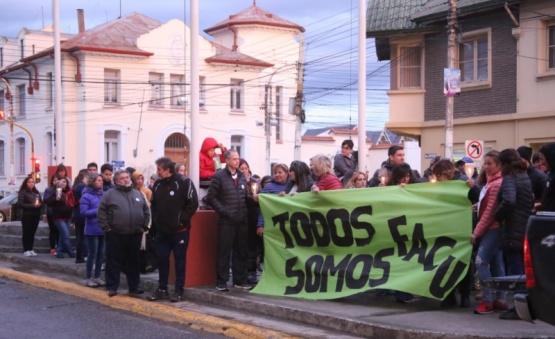 Concentración en Kirchner y San Martín. (C.G)