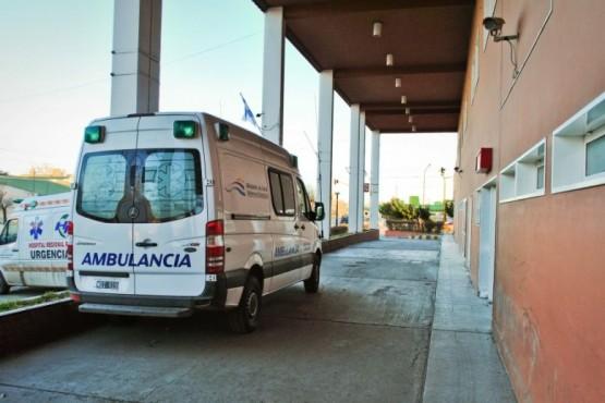 Los policías fueron asistidos en el nosocomio local.