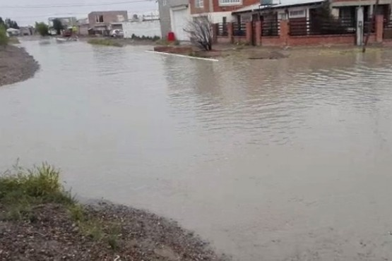 Estas son las calles cerradas por acumulación de agua