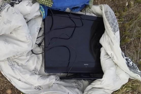 Algunos de los elementos robados que fueron recuperados por el personal policial de la Comisaría Séptima.