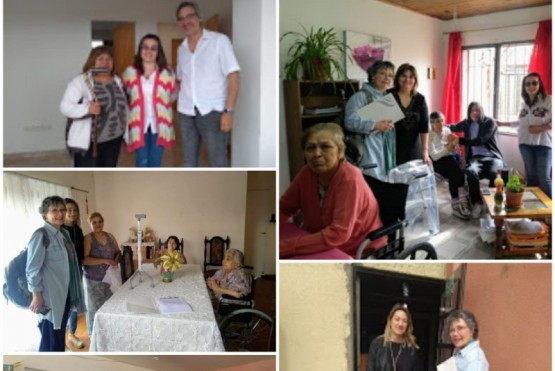 La UNPA-UARG realizó donaciones a Hogares de Río Gallegos