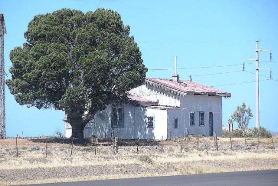 Ex Estación Tellier ubicada en el paraje rural del mismo nombre