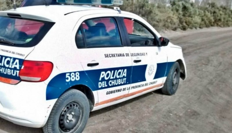 Móvil policial.
