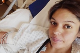 Piden dadores de sangre para Nadia Cid