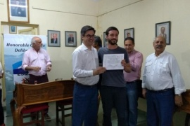 Entrega de certificados al voluntariado de lectura