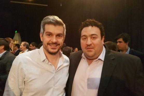 Marcos Peña y Antonio Carambia (Foto archivo).