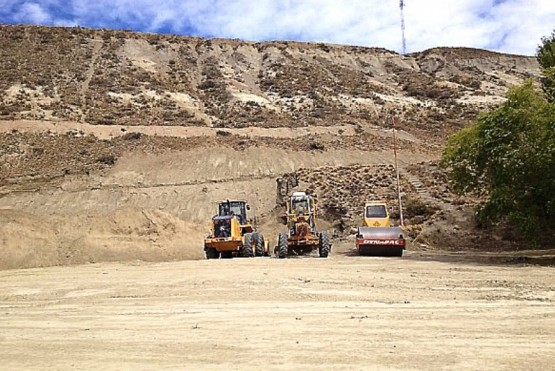 Los trabajos para el lugar donde estarán los silos comenzaron en 2015. (Archivo).