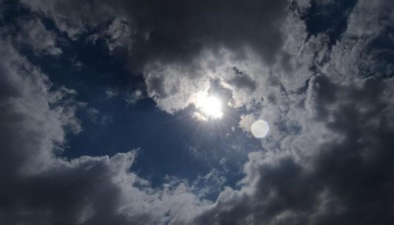 Nublado en las ciudades de Santa Cruz.