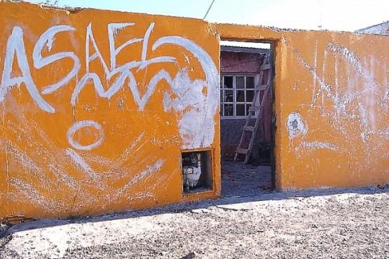 Vivienda donde habría sido encontrado el cuerpo de Juan Fuentes. (Foto: Periódico de Las Heras)