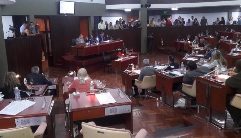 Sesionó la Legislatura de Chubut.