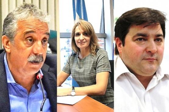 Matías Mazú, Nadia Ricci y Ariel Ivovich.
