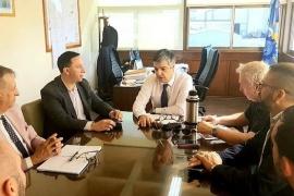 Maderna encabezó reunión por la situación de la Cooperativa