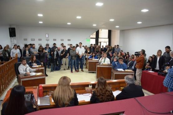 Recinto del Concejo Deliberante de Río Gallegos (C. Robledo).