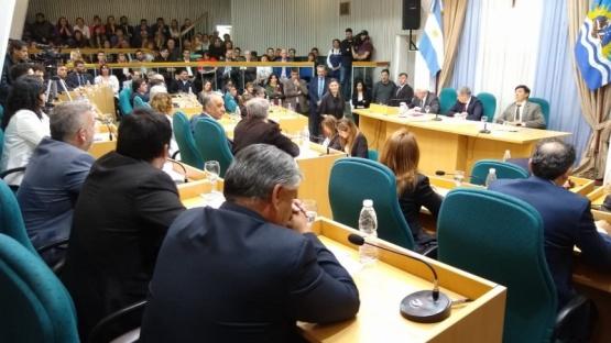 Sesión preparatoria en la Cámara de Diputados. (C.G)