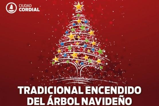 Mañana se llevará a cabo el encendido del árbol navideño