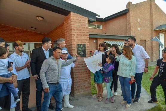 Arcioni inauguró obras y firmó un acuerdo para avanzar en el desarrollo productivo de 28 de Julio