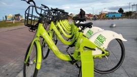 Ya están listas para usarse las bicis públicas en la costanera
