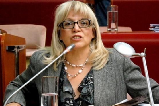 La diputada Nacional Rosa Muñoz