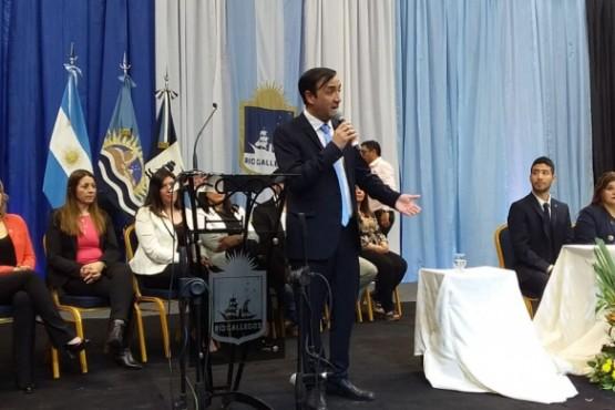 Pablo Grasso, electo intendente.