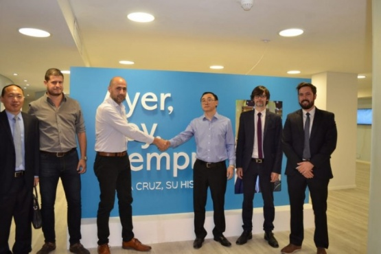 La Casa Santa Cruz recibió a una empresa china