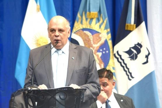Roberto Giubetich, intendente de Río Gallegos. (C.R)