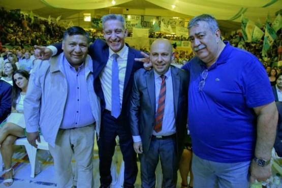 Gustavo Sastre puso en funciones a su nuevo Gabinete