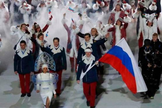 Atletas rusos suspendidos por cuatro años.