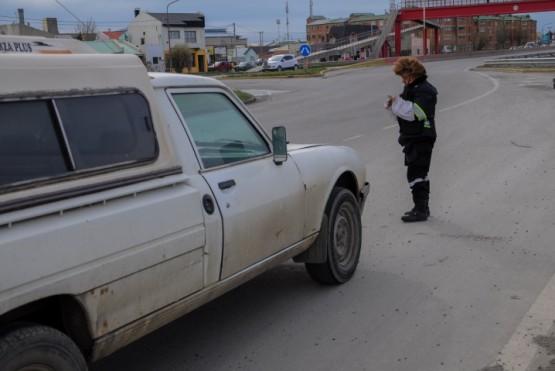 Inspectores de Tránsito realizaron controles vehiculares