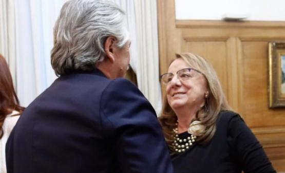 Las fotos de Alicia en la asunción de Alberto Fernández