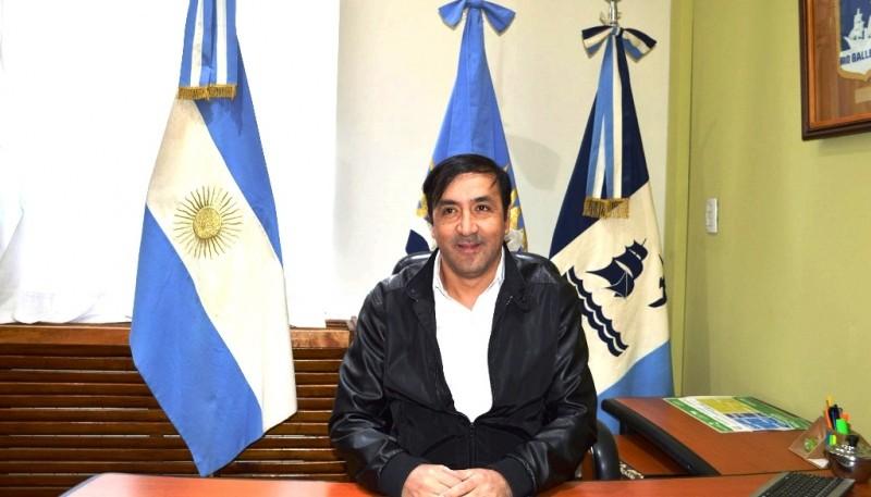 Grasso se sentó en el sillón municipal (M.G)