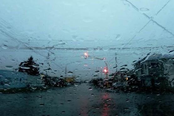 Alerta por lluvias en el sur de la provincia.