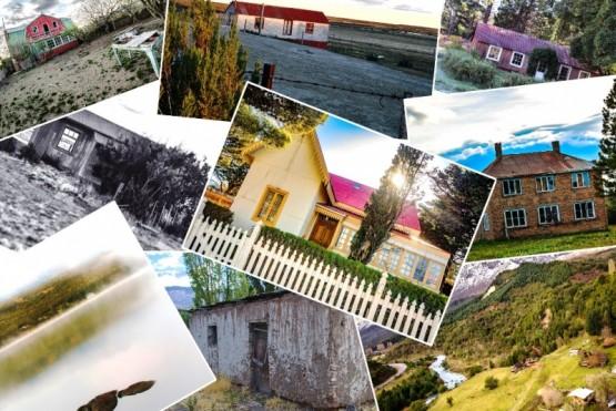 Casas de la Patagonia.