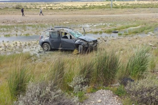 Camioneta que volcó (C.R)