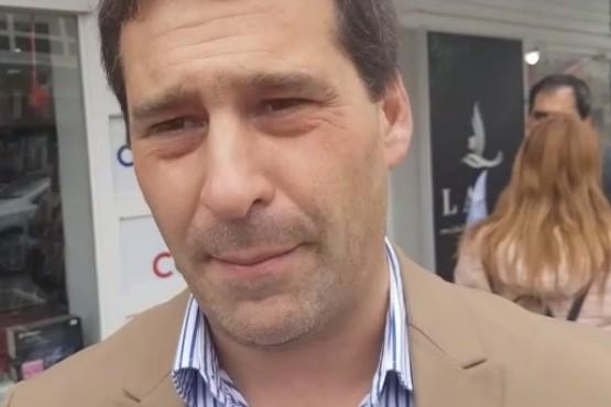 El intendente de la ciudad, Juan Pablo Luque.