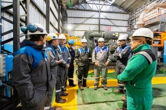 El encuentro fue encabezado por e ministro de Hidrocarburos de la Provincia, Martín Cerda.