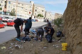 Contreras eligió el barrio 2 de Abril para el operativo de limpieza