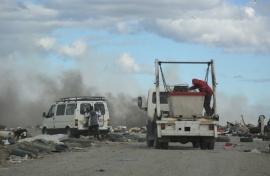 Municipio trabaja en controlar otro incendio en el vaciadero